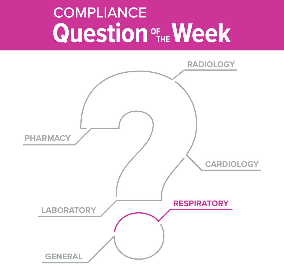 Respiratory Compliance Question of the Week